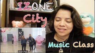 IZONE City Part 4 Music Class Reaction