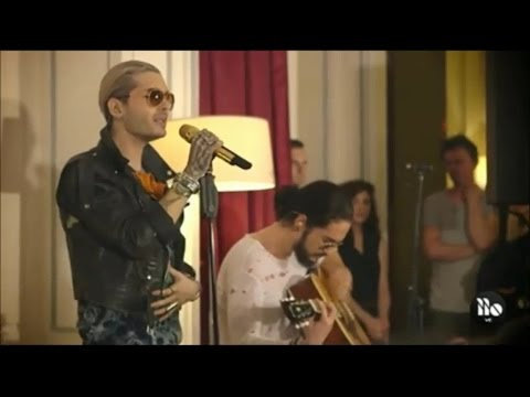 Tokio Hotel -  Love Who Loves You Back Live Acoustic [Vídeo]