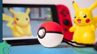 The Poké Ball Plus makes Pokémon Let's Go WAY Easier