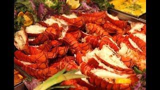 Nhà hàng buffet Tôm hùm nè ...Nên thử lần cho biết..Lobster buffet at southern California ...