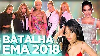 EMA 2018: LOOKS, CAMILA CABELLO RAINHA DOS MEMES, ANITTA ENTREGA PRÊMIO PRA NICKI MINAJ...  Foquinha