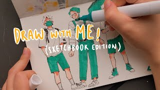 Draw with me in my sketchbook! (ft. ARTEZA)