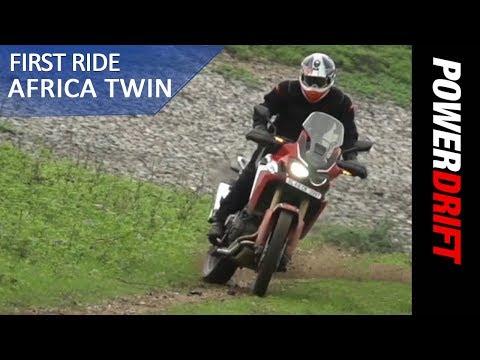 Honda Africa Twin DCT (2017) : First Ride : PowerDrift