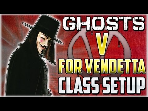 "COD Ghosts - ""V For VENDETTA"" Custom Class Setup ""Death Behind The Mask"" (Call Of Duty) - Smashpipe Games"