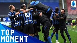 Conte joins the celebrations after Darmain's goal! | Inter 1-0 Cagliari | Top Moment | Serie A TIM