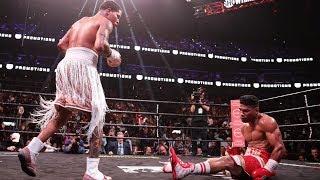 Gamboa WARRIOR! SUFFERS BRUTAL KO in 12th vs Gervonta Davis