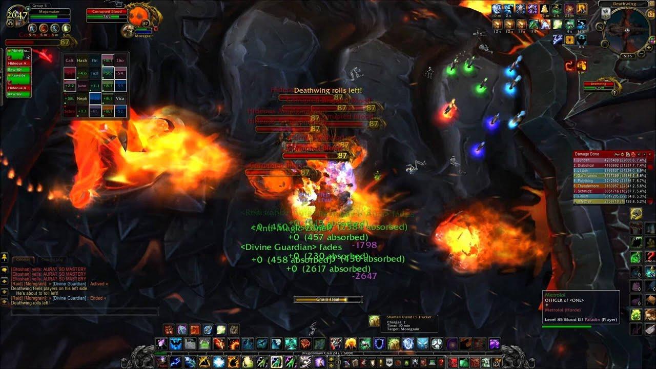 Dragon Soul Raid Location: Deathwing Part 1: Dragon Soul Raid Unedited