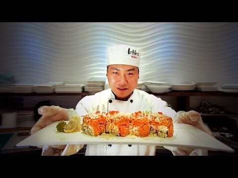 Iron Sushi Chef Commercial Advertisment
