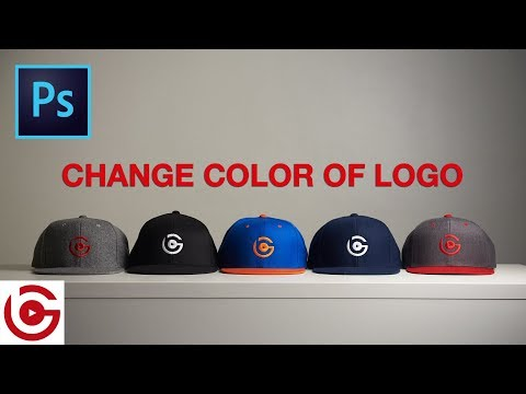 How To Change Logo Color In Photoshop