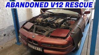 The Hack Jobs Unfold - Garden Find V12 BMW E31 850i Revival - Project Marseille: Part 2