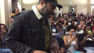 Jordan Peele discusses GET OUT at UCLA 1-31-18
