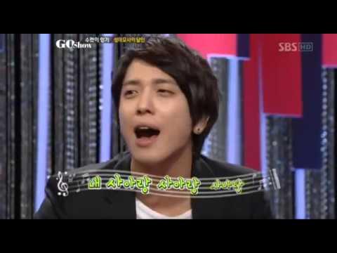 121214 CNBLUE Go Show ホンギのモノマネ