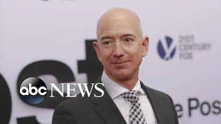 Federal prosecutors are looking into blackmail claims by Jeff Bezos