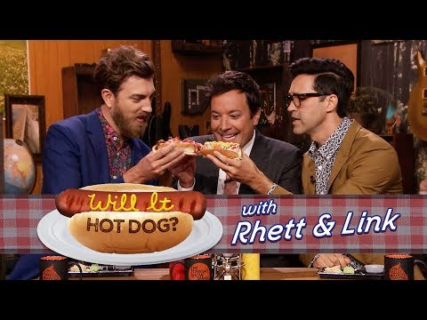 Will It Hot Dog? with Jimmy Fallon, Rhett & Link (Good Mythical Morning)