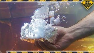 What Does Dry Ice Look Like Under Water?