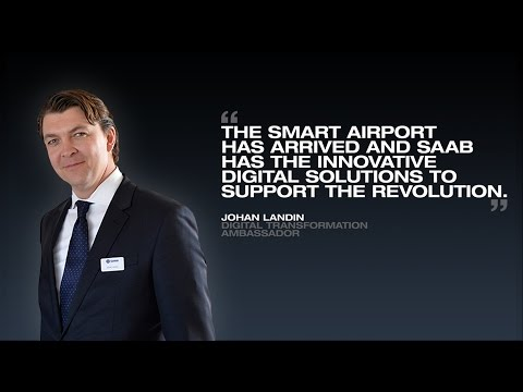 Digitalized Airports with Johan Landin - Farnborough International Airshow 2016