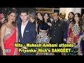 Nita and Mukesh Ambani attends Priyanka- Nick's SANGEET