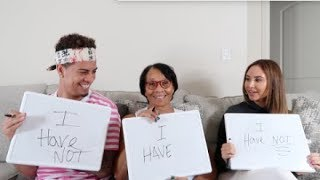 NEVER HAVE I EVER CHALLENGE WITH GRANDMA!!!