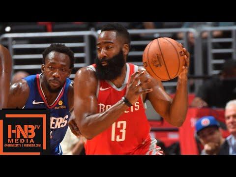 Los Angeles Clippers vs Houston Rockets