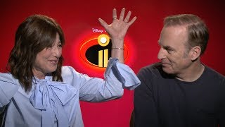 Catherine Keener is VERY Excited for the Disneyland 'Incredibles' Ride