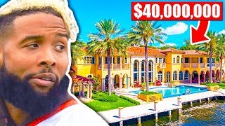Stupidly Expensive Mansions Of NFL Players (Odell Beckham Jr, Tom Brady, Antonio Brown)