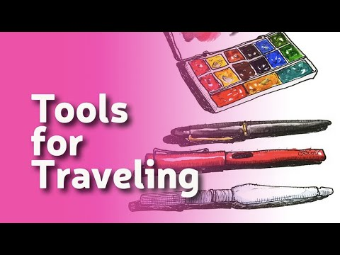Draw tip Tuesday Live - Tools for Traveling