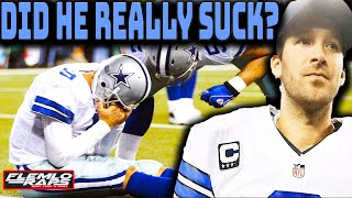 What Happened to Tony Romo? (How a Few Highly Publicized BAD Plays Ruined an Otherwise Great Career)