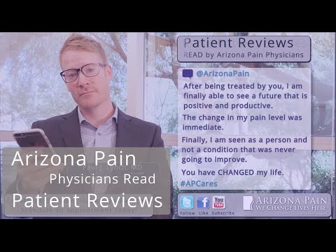A Changed Life - Dr. Lynch Reads A Patient Review.