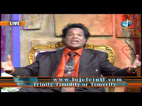Dr.Dominick Rajan Trinity Timidity Temerity