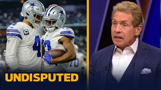 Cowboys rank No. 1 in receivers, now the pressure is on Dak Prescott — Skip | NFL | UNDISPUTED