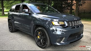 2018 Jeep TrackHawk – A 707 HP Dragster You Can Daily Drive
