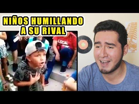LAS MAYORES HUMILLACIONES HECHAS POR NIÑOS EN BATALLAS DE RAP