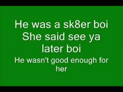 Baixar Avril Lavigne - Sk8er boi lyrics