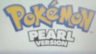 My 16th Lets Play Pokemon Pearl Part 1 Welcome Turtwig.