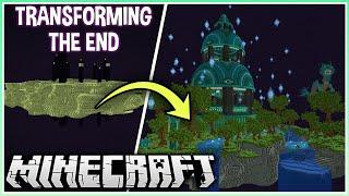 I Turned the End into a Huge Mega Base!