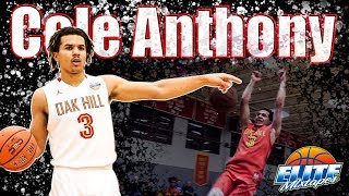 Cole Anthony CRAZY Senior Year Mixtape!! The #1 PG in High School