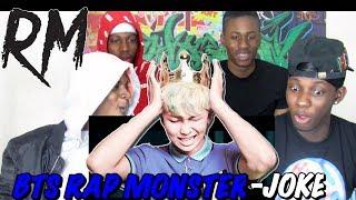 BTS Rap Monster (랩몬스터) - Joke 농담 - REACTION