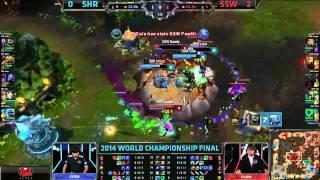 S4世界大賽冠軍賽SSW vs SHR - 保命戰