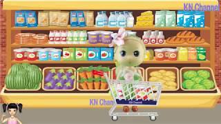 Thơ Nguyễn - Đồ chơi chiếc thang cuốn kỳ diệu trong siêu thị