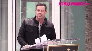 Carson Daly Speaks At NSYNC's Hollywood Walk Of Fame Star Ceremony 4.30.18