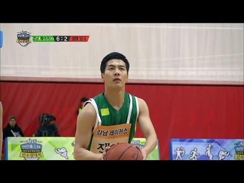 【TVPP】Jackson(GOT7) - Free Throw, 잭슨(갓세븐) - 깔끔하게 자유투 성공하는 잭슨 @ 2015 Idol Star Championships