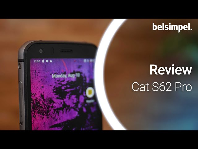 Belsimpel-productvideo voor de Cat S62 Pro Black