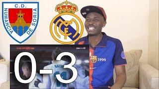 Barcelona Fan React To ● Numancia VS Real Madrid 0-3 ● All Goals And Highlights