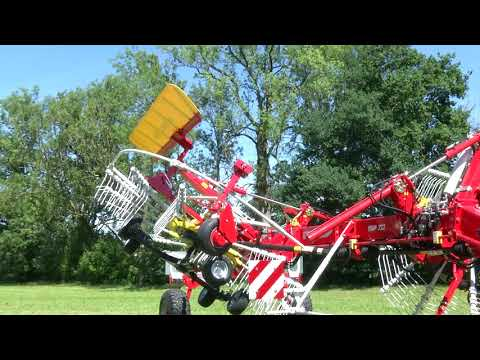 New video: Hydraulic height adjustment on the TOP 722 rake