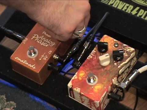 Analog Phaser Guitar Effects Pedal