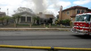 House fire in Anaheim