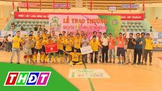 Toàn cảnh Giải Futsal Truyền hình Đồng Tháp 2018, cúp Ticarlox | THDT