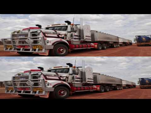 4K 3D DUSTY ROADS, AUSTRALIA. Photography for ultraHD 3D TV by Roman Klein. romanklein4K3D