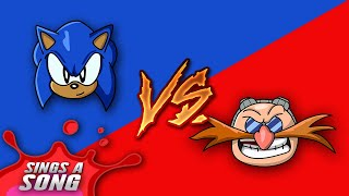 Sonic Vs Dr Robotnik Rap Battle (Sonic The Hedgehog Film Parody)