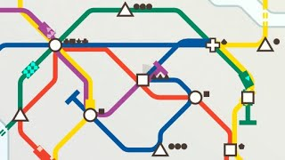 Using a Clever Strategy to Manage a Busy Train Network in Mini Metro